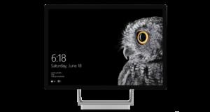 Microsoft Surface Studio von vorne