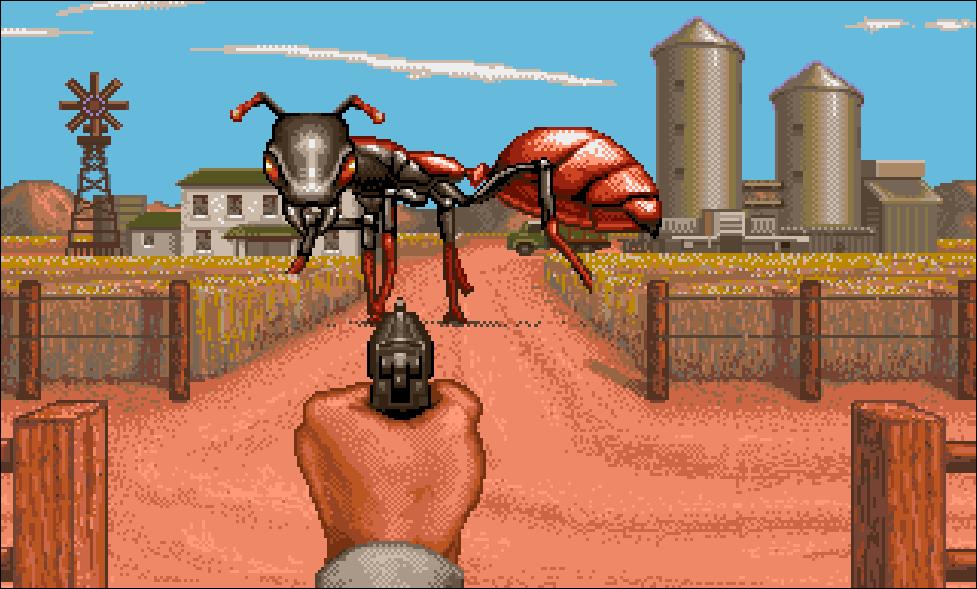 Screenshot aus It Came From The Desert