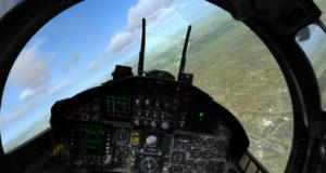 Cockpit-Screenshot aus DCS World