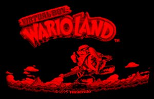 Screenshot aus Wario Land für Nintendo Virtual Boy