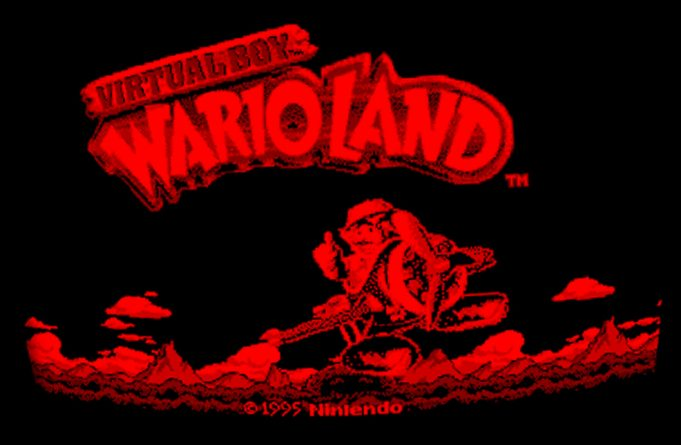 Screenshot aus Wario Land für Nintendo Virtual Boy