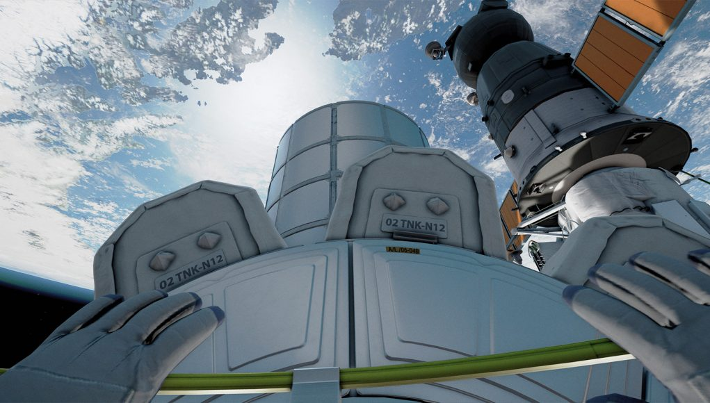 Screenshot Home - A VR Spacewalk