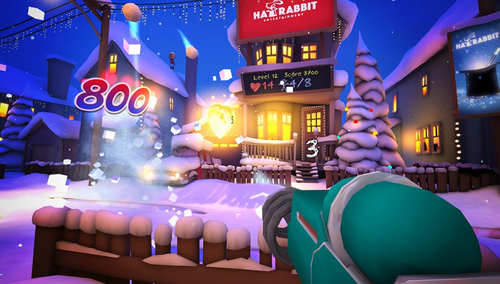Screenshot Merry Snowballs
