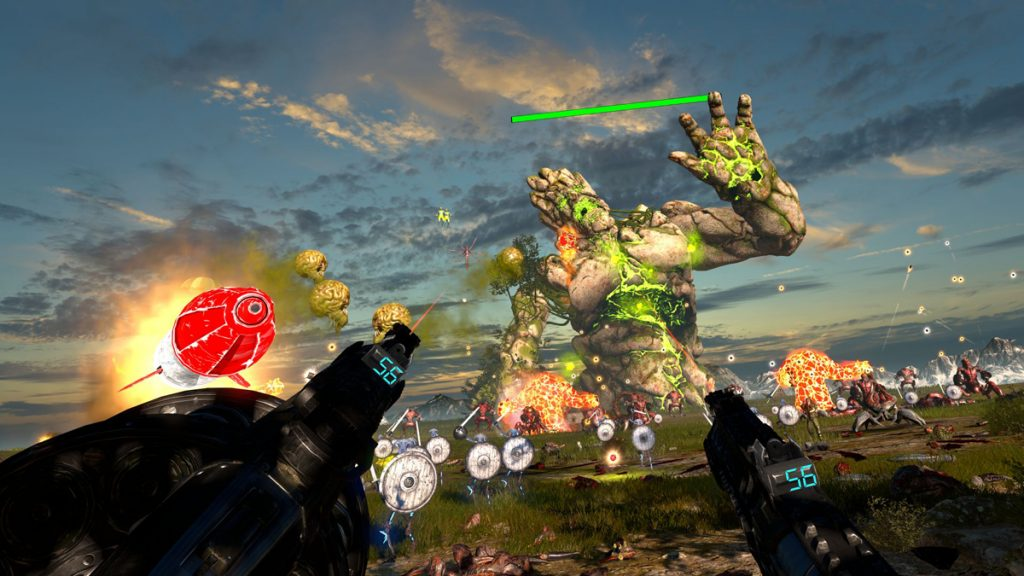 Screenshot Bosskampf Serious Sam VR The Last Hope