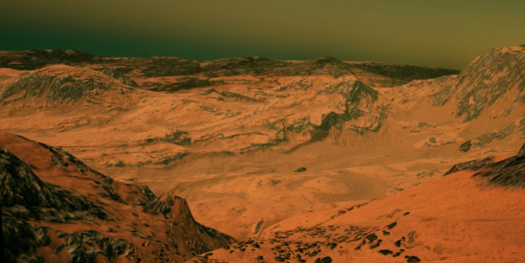 Screenshot Unearthing Mars