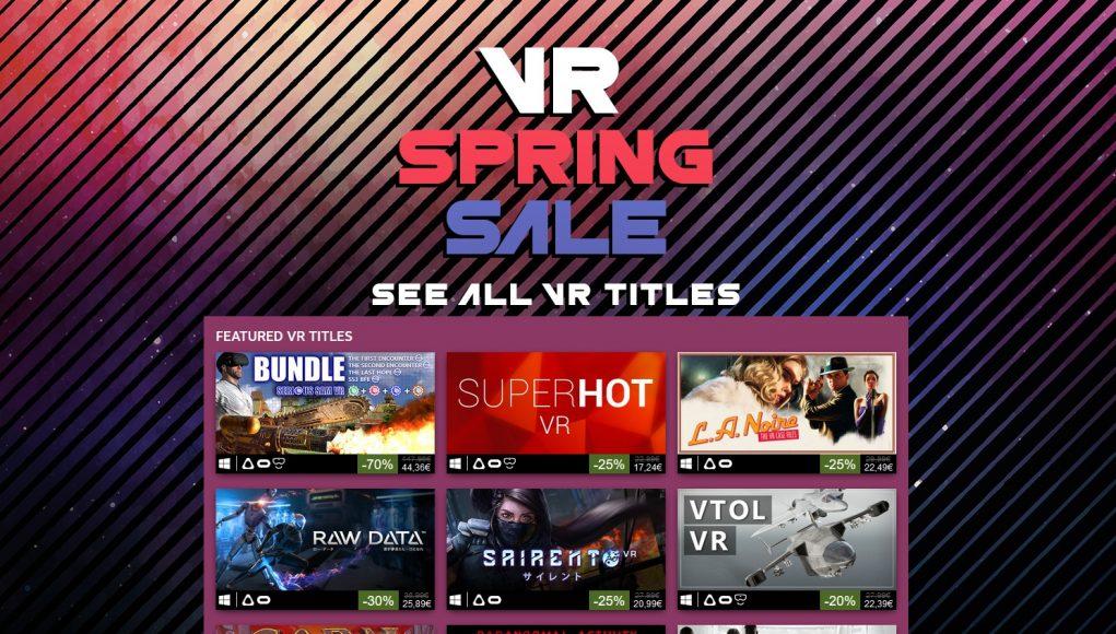 Steam VR Spring Sale