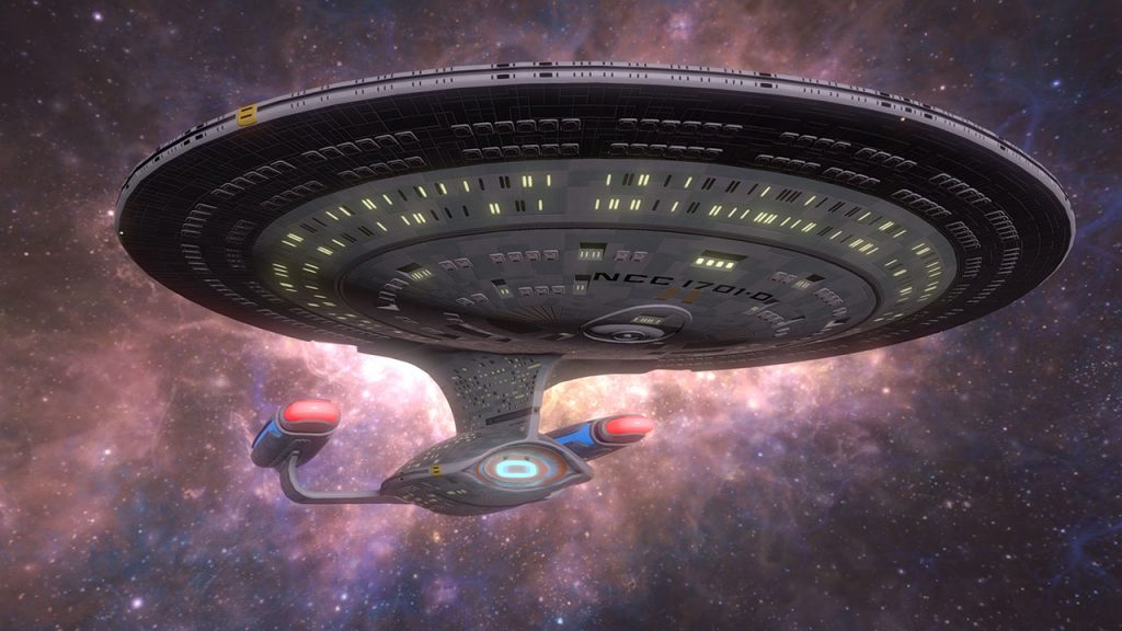 Star Trek Bridge Crew Enterprise D