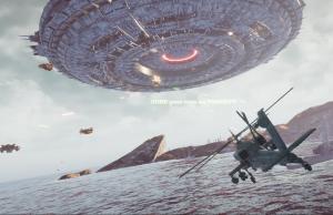 Worlds at War: Alien Mutterschiff