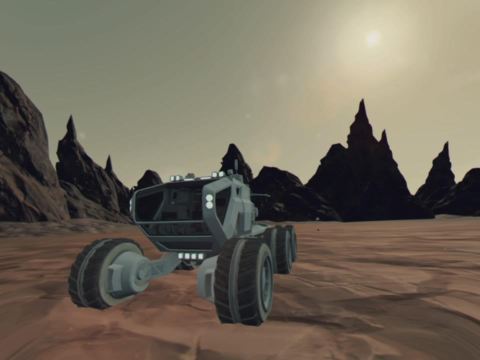 Mars Alive: der Rover